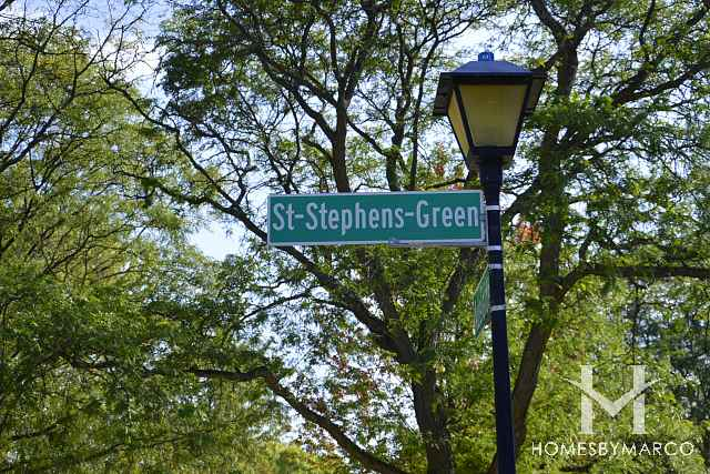 St Stephens Green (subdivision)