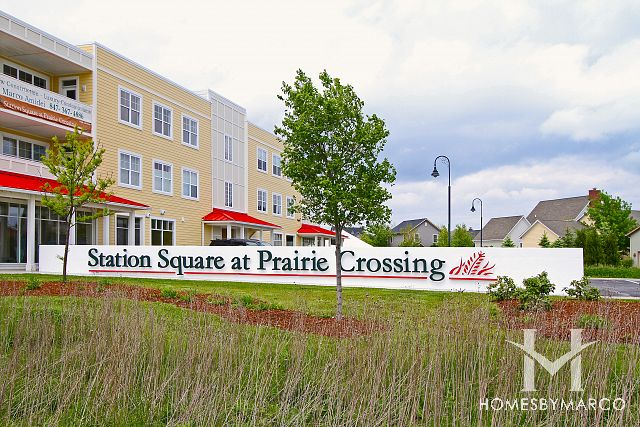Station Square at Prairie Crossing